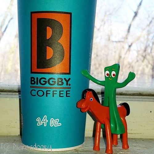 Shoutout to some of the happiest hardest workers I know.Thanks for the service with a smile always. Biggby great job guys! Biggbyleonardfuller  Biggbycoffee  Nocoffeenowork Coffee Coffeeordeath Gumby Pokey