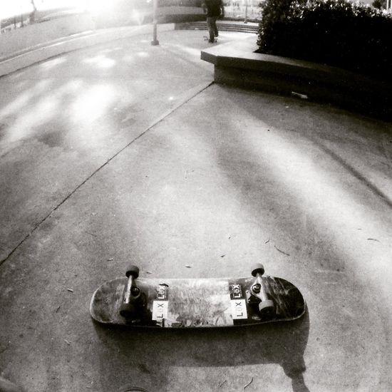 Skateboarding Skateboard Skatelife Blackandwhite 35mm Kentmere100
