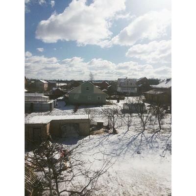 Здравствуй март! 😡😩😱❄☁☀ снегвмарте мазафака