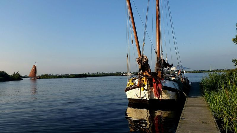 Sneek Boat Netherlands Sky Water MAM79 Friesland