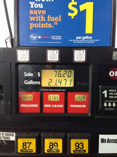 Gas Is Expensive