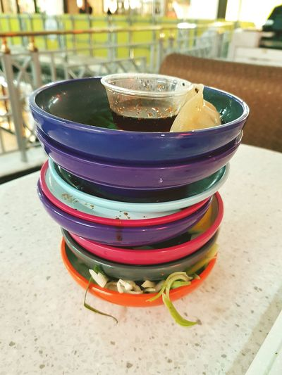 Multi Colored Plates Dishes Food Sushi Yo Sushi Yo! Sushi