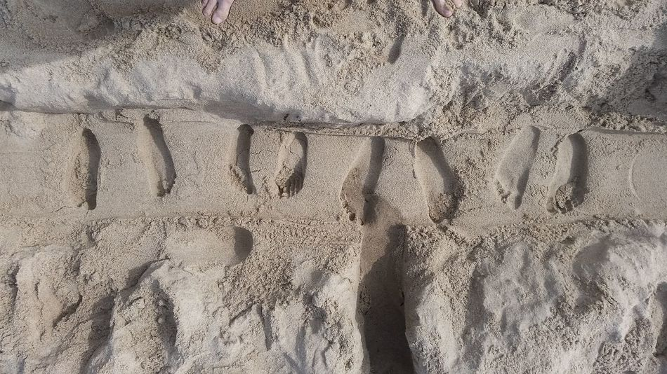 Sand Full Frame Backgrounds Day Beach No People High Angle View Pattern Close-up Outdoors