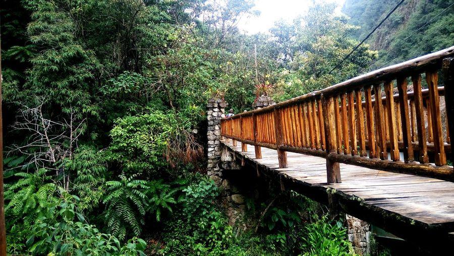 Cuando veas ese puente habras llegado a tu destino. Cuzco First Eyeem Photo
