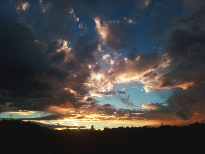 TakeoverContrast Nature Sky Sun Cloudscape Cloud - Sky Dark Beauty In Nature Cloud Blue