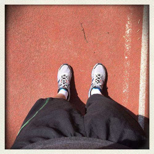 100days100trainings , day 21, training 23, Track Running  , Shoefie