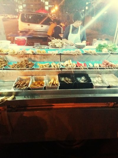 Lok Lok. Street steamboat. Late Night Snack