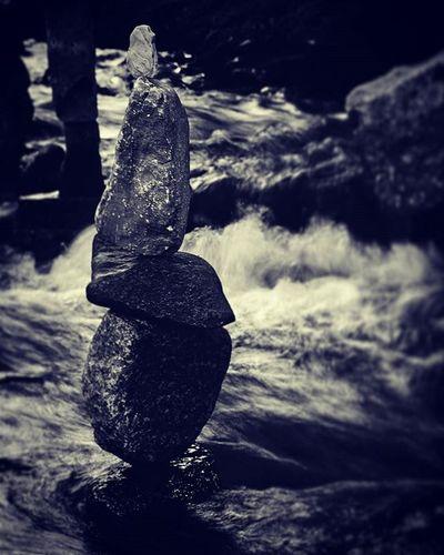 Balance. Rocks Balance Art ManitouSprings Colorado Vintage Old Bnw Blackandwhite Bnw_rose Bnw_captures Bnw_life Bnw_society Bnw_planet Rapids River Nostalgia VSCO Vscocam Vscophile