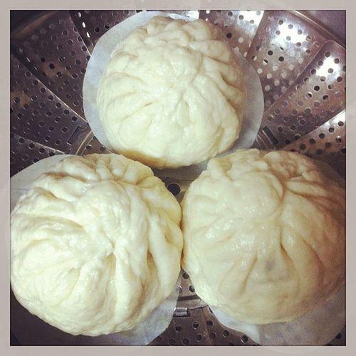 Yumm Homemake Banhbao Porkbuns Steambuns buns asianfood asian vietnamese delicious instafood foodporn weekend