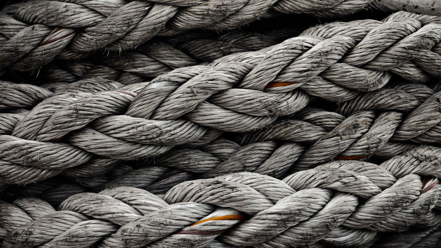 Full frame shot of rope