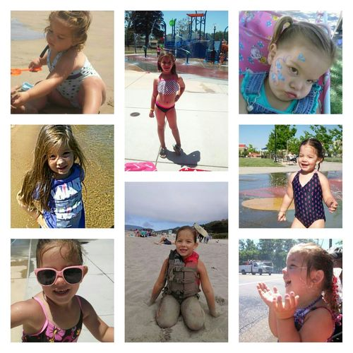 Summer Sunshine ☀ Laughs Happiness♥ Mydaughter Myworld Littlegiggles