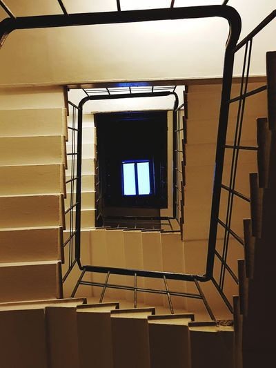 Spiral Staircase Steps Indoors  Architecture Built Structure Steps And Staircases Spiral Window Day Staircase No People Graphic Photo Graphic Photography Yellow