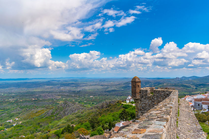 castelo de marvão Ancient Ancient Civilization Archaeology Architecture Building Exterior Built Structure Cloud - Sky Day Environment History Landscape Nature No People Old Ruin Outdoors Ruined Scenics - Nature Sky The Past Tourism Travel Travel Destinations