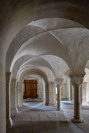 Gewölbe Klosterkirche Lippoldsberg Arch Architectural Column Architecture Built Structure Day History Indoors  No People