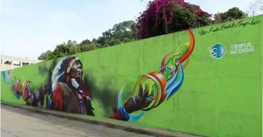 🌵🍁👴 #RealVerso #Morelia #Tacambaro #Tripulaczion Graffiti Street Art