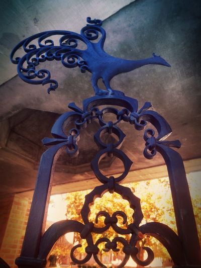 The Peacock gates of Cranbrook... No People Close-up Outdoors Day Showcase April Focus On Foreground Pure Michigan Architecture My Editing Style Wrought Iron Art