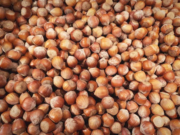 Full frame shot of onions for sale