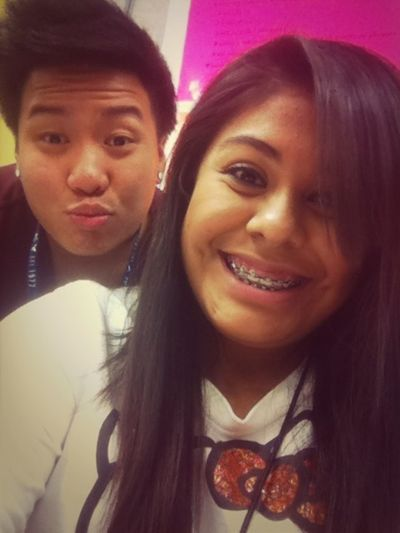 me and michael in spanish . c:
