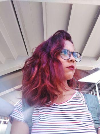 Young Women Eyeglasses  Portrait Women Redhead Close-up