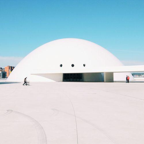 Niemeyer Niemeyer Arquitectura Oscar Niemeyer Architecture Niemeyer Center Asturias Avilés Minimalism