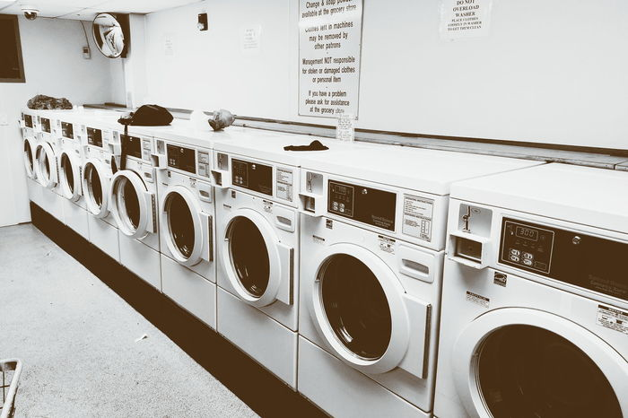 Laundromat Washing Machine Electronics Industry No People Hampton Beach NH Samsung Galaxy S7