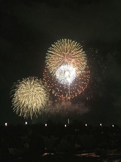 すごくきれいな🎆夏の花火は最高だった🎆 Summer Views Fireworks 花火 素晴らしい日本 きれいな
