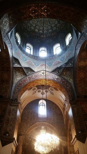 Architecture Built Structure No People Church Armenia Armenian Church l Echmiadzin, Armenia Blue Color Light And Shadow Sunlight Art Colorful