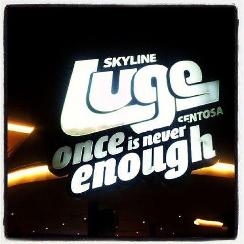 """ONCE IS NEVER ENOUGH"" Lugesingapore Sentosa Lugesentosasingapore Lugesentosa luge lugerace Nofilters instatravel instasg"