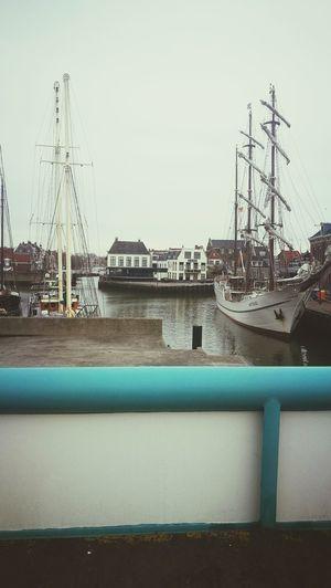 Sky Harbor No People Water Nautical Vessel Outdoors Day Boat Harlingen, Netherlands Netherlands