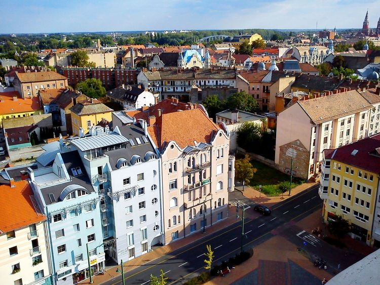 The View of Szeged . Views View From Above View From The Window... View From The Top Viewfromthetop Cityscape City Skyline Cityscapes Cityview Cityspaces City Landscape City Scape City View  City City Street Szegedforever♥ Szegedcity Szegedi Place Of Heart