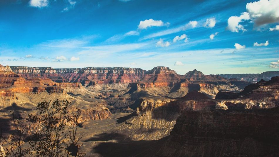 Grand Canyon Tourism Travel Destinations Travel Physical Geography Scenics Famous Place Geology Rock Formation Tranquil Scene Rock - Object International Landmark Landscape Beauty In Nature Idyllic Grand Canyon National Park Sky Tranquility Remote Extreme Terrain Grand Canyon