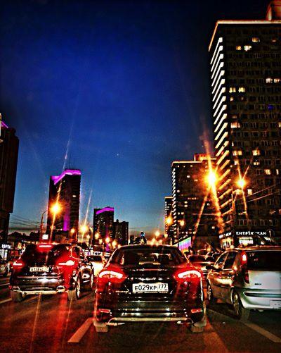 Moscow Never Sleeps My Lovely City♥  Oh, I Love My Job. Traffic