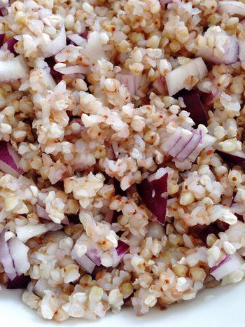 Buckwheat Onions Vegan Food Healthy Food Vegetarian Food POV 365 Photos In 2015 Vegetables Depht Of Field Closeup