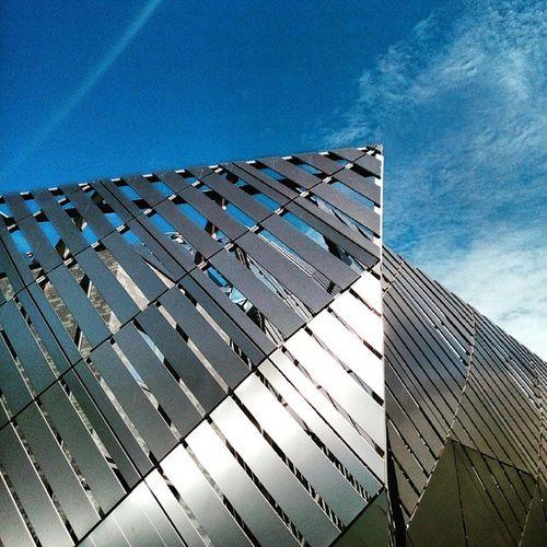 Centrale Iren. Iren Centrale Poli Polito juno politecnicoditorino metal shine blue grey sky cielo azzurro grigio cloud clouds nuvole like4like follow4follow followme 100likes scattiitaliani igerstorino igersitalia architecture instaarchitecture architectureporn