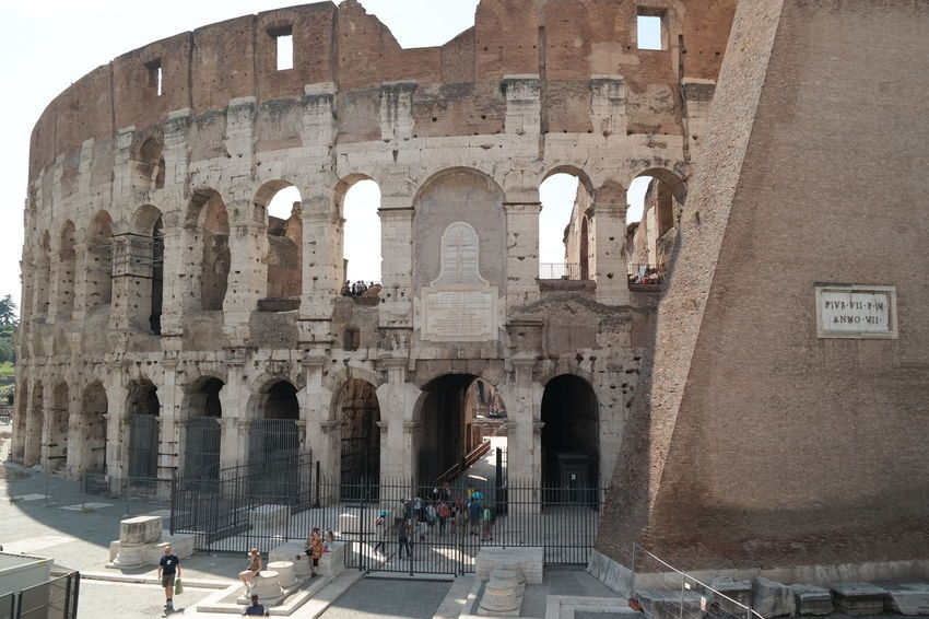 Colosseum, Rome Ancient Civilization Architecture Colosseo Colosseum Famous Place Kolosseum Meet Rome Rome Italy Travel Destinations