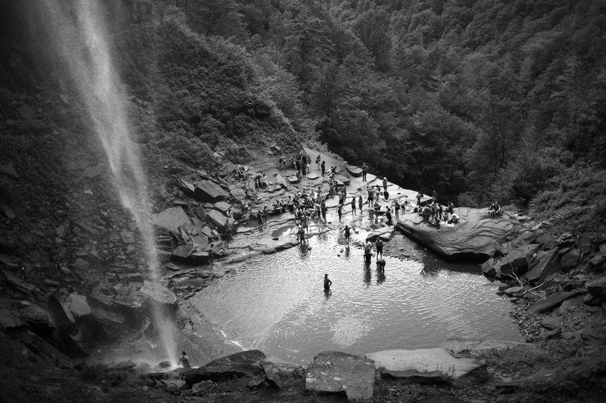 Kaaterskill Falls from below.