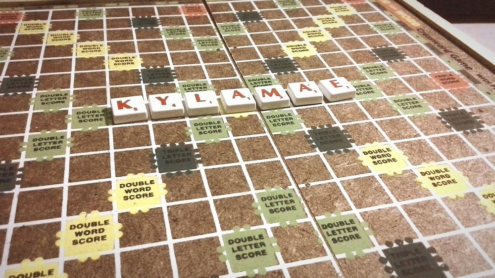 New scrabble board ♥ Somethingnew