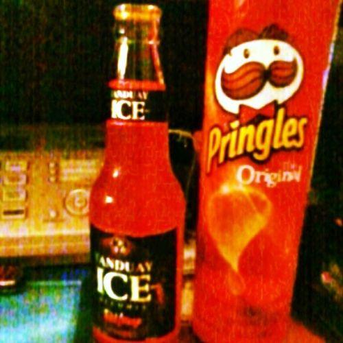 Red in Night PringlesOriginal TanduayIceRedMirage - di kuntinto sa Halohalo hala ito nag additional pampatulog ...