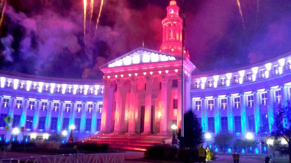 Happy Fourth Of July 🎉 Cityofdenver Fireworksphotography civiccenterpark Gypsyxxykikactual First Eyeem Photo The00Mission