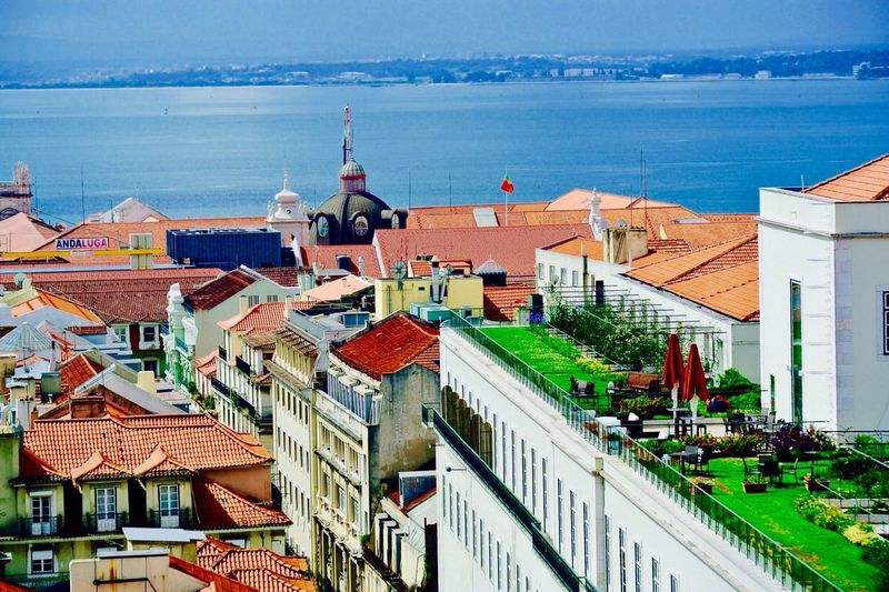 Roofs of Lisbon.