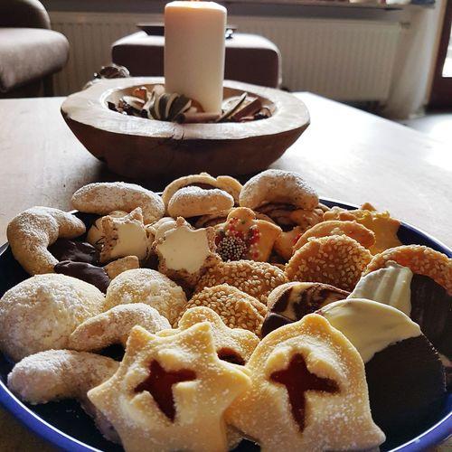 Homemade Plätzchen  Weihnachten Christmastime Kekse Plätzchenteller Backen Advent
