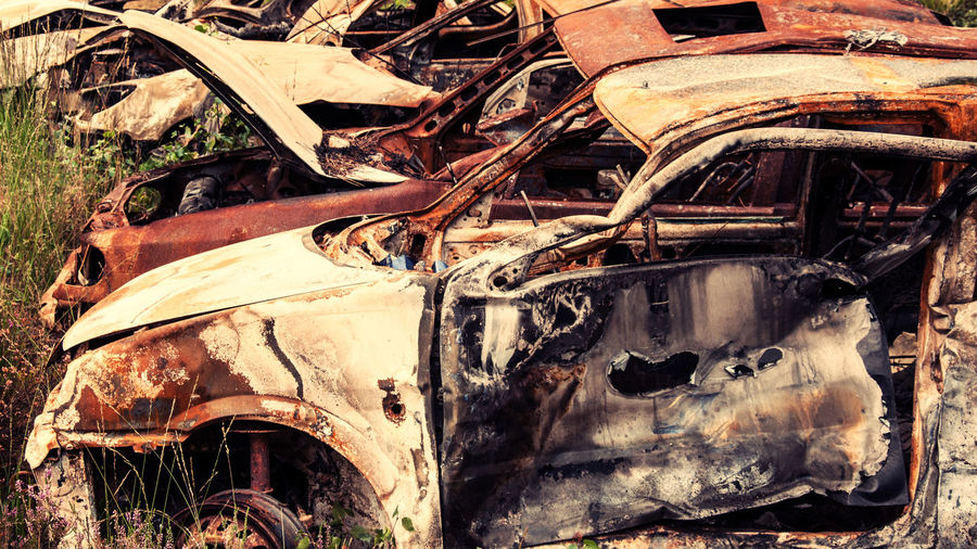 Burnt Out Car Wrecks Abandoned Accident Autos Bad Condition Burnt Out Burnt Out Car Car Wreck Cars Collision Crash Damaged Damaged And Wrecked Demolished Rust Rusted Rusted Car Rusted Cars Rusty Scrap Scrapyard Trash Wreckage