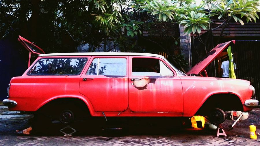 ...waiting RePicture Ageing Holden Red Scraps Holden Special Station Wagoon Indonesia_allshots INDONESIA Mechanics Check This Out Restoration