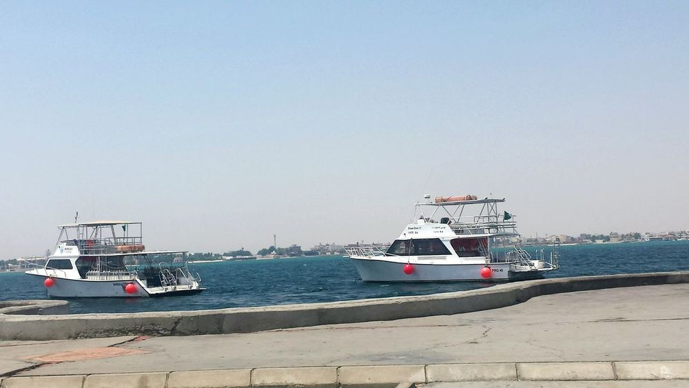 April Showcase Jeddah Boat View Red Sea Nice Day