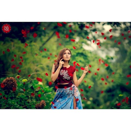 Portopolio Trickoutheart Fashion Fotohunting flower malang modelindonesian modeling fotography red