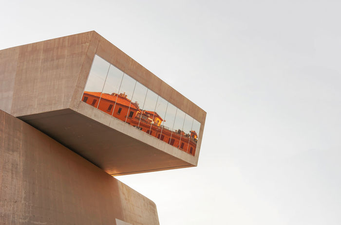Architecture MAXXI MAXXI Roma Mirror Museum Of Modern Art Reflection Architecture Building Exterior Built Structure Clear Sky Contemporary Day Glass Low Angle View Museum Nature No People Outdoors Sky Urban Window Moving Around Rome