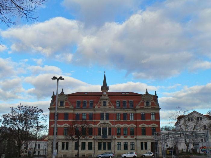 Eutritzscher Markt Architecture Architektur Blue Sky And Clouds Cloud Clouds Clouds And Sky Cloudy Eutritzsch Leipzig Sky Sky And Clouds Wolken Wolkenhimmel