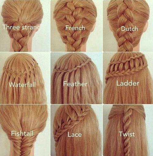 Hairstyles LookingCute  Blondhair Fishtail Braid