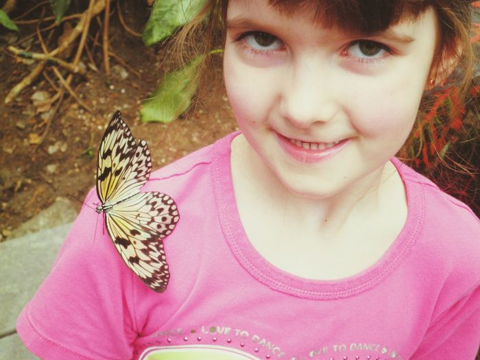 Butterflies Family Faces Of EyeEm took my family out butterfly gardens and one little guy wanted to pose