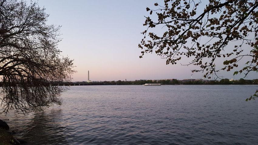 Washington, D. C. Potomac River Potomac National Monument Trees River